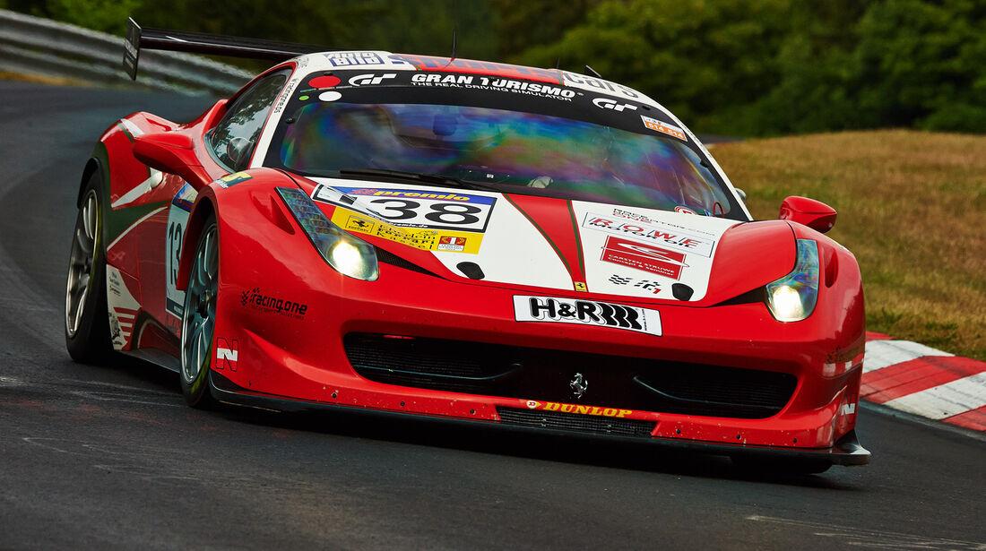 Ferrari 458 - VLN Nürburgring - 5. Lauf - 5. Juli 2014