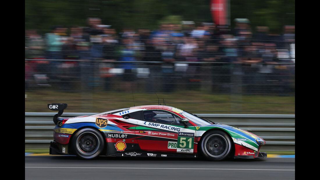 Ferrari 488 - #51 - 24h Le Mans - Sonntag - 19.06.2016