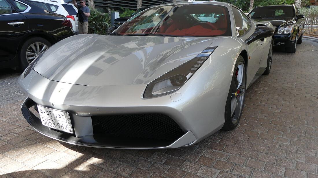 Ferrari 488 - Carspotting - GP Abu Dhabi 2016
