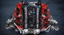 Ferrari 488 GT Modificata - Motor - V8-Biturbo