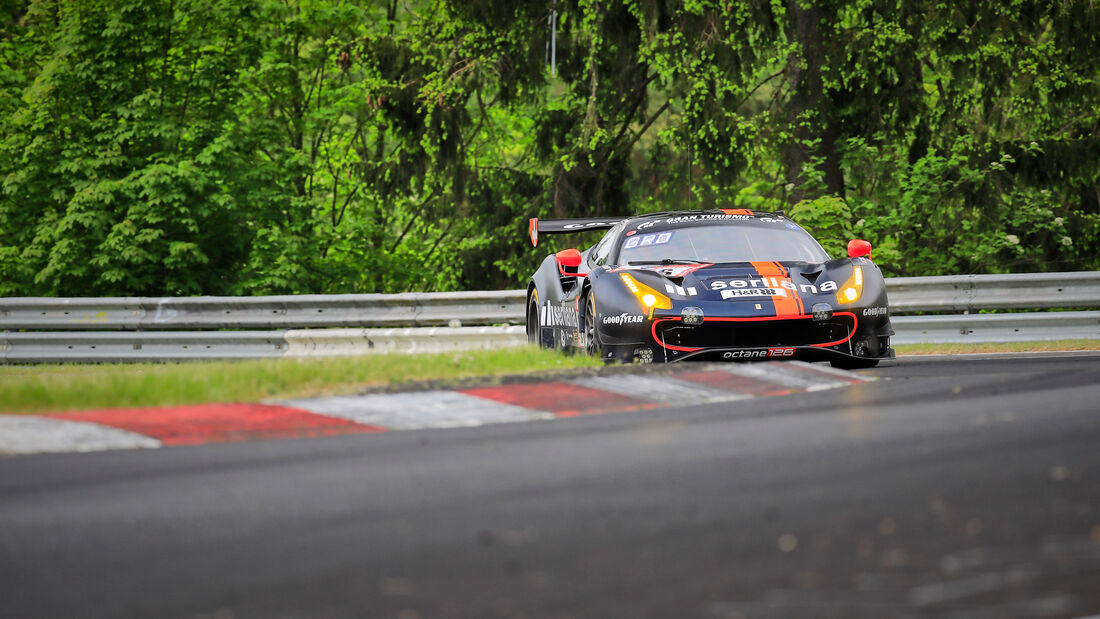 Ferrari 488 GT3 EVO 2020 - octane126 AG - Startnummer #26 - Klasse: SP 9 (FIA-GT3) - 24h-Rennen - Nürburgring - Nordschleife - 03. - 06. Juni 2021