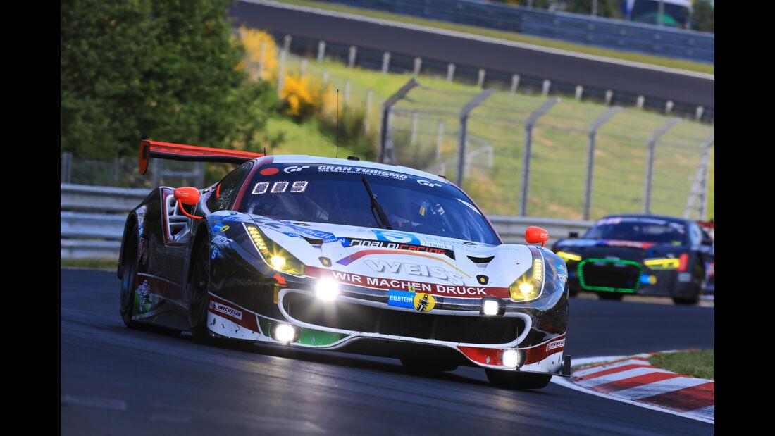 Ferrari 488 GT3 - Freies Training - 24h-Rennen Nürburgring 2017 - Nordschleife