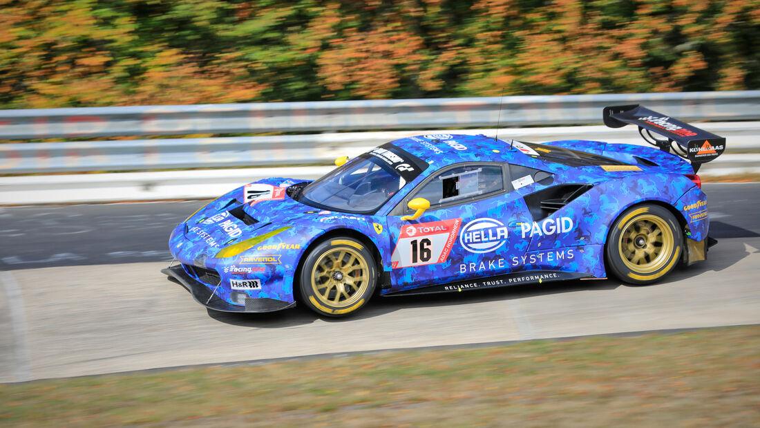 Ferrari 488 GT3 - Hella Pagid Racing One - Startnummer #16 - 24h-Rennen - Nürburgring - Nordschleife - Donnerstag - 24. September 2020