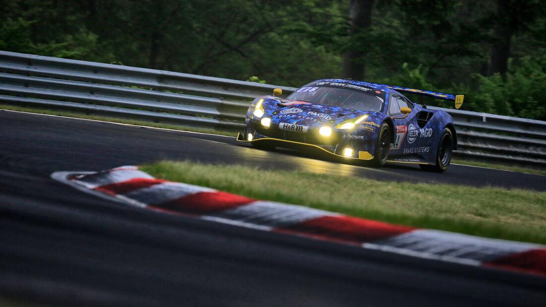Ferrari 488 GT3 - Hella Pagid - racing one - Startnummer #14 - 24h-Rennen Nürburgring - Nürburgring-Nordschleife - 5. Juni 2021