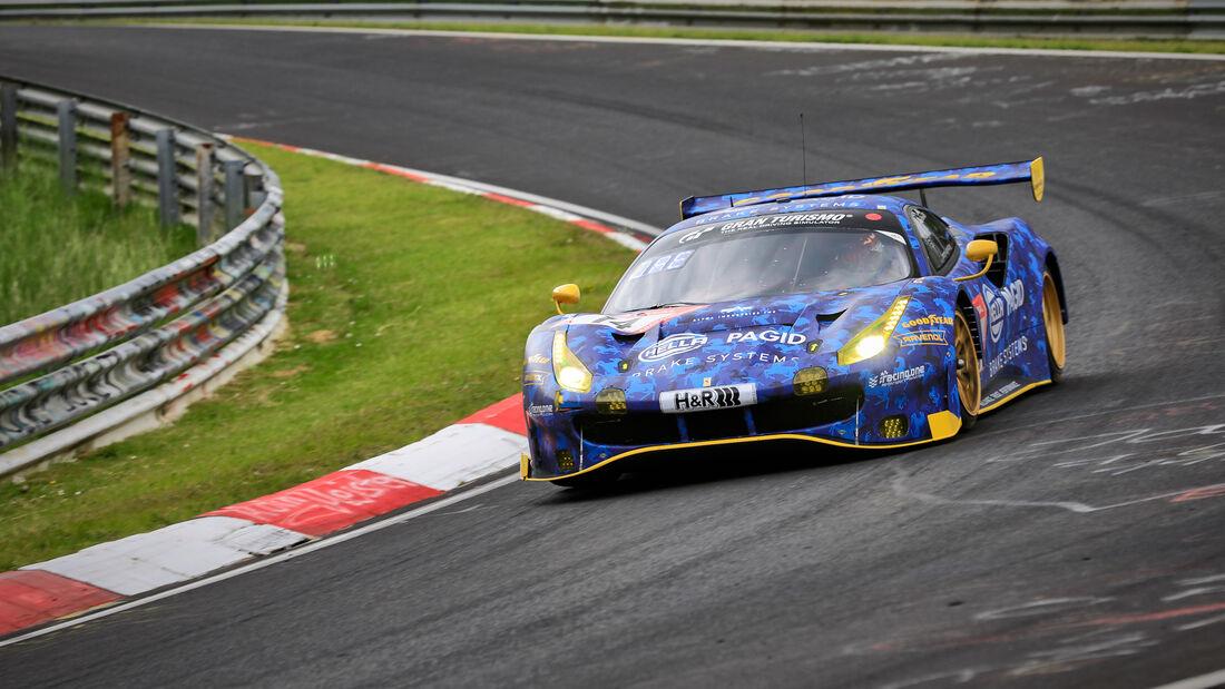 Ferrari 488 GT3 - Hella Pagid - racing one - Startnummer #14 - Klasse: SP 9 (FIA-GT3) PRO-AM - 24h-Rennen - Nürburgring - Nordschleife - 03. - 06. Juni 2021
