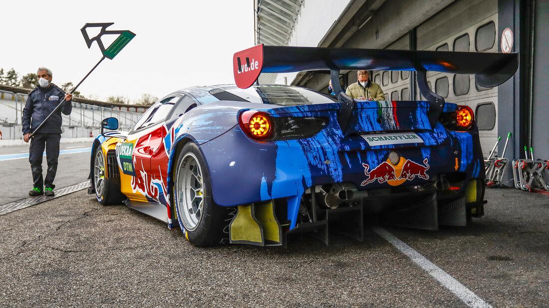 Ferrari 488 GT3 - Liam Lawson - DTM-Test - Hockenheim 2021