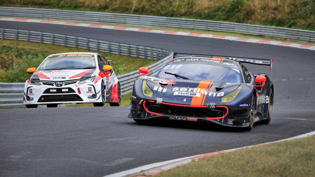 Ferrari 488 GT3 - Octane 126 - Startnummer #26 - 24h-Rennen - Nürburgring - Nordschleife - Donnerstag - 24. September 2020