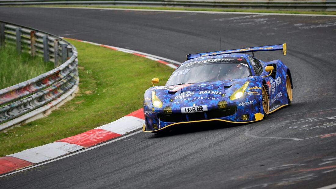 Ferrari 488 GT3 - Racing One - Startnummer 14 - 24h Rennen Nürburgring - Nürburgring-Nordschleife - 4. Juni 2021