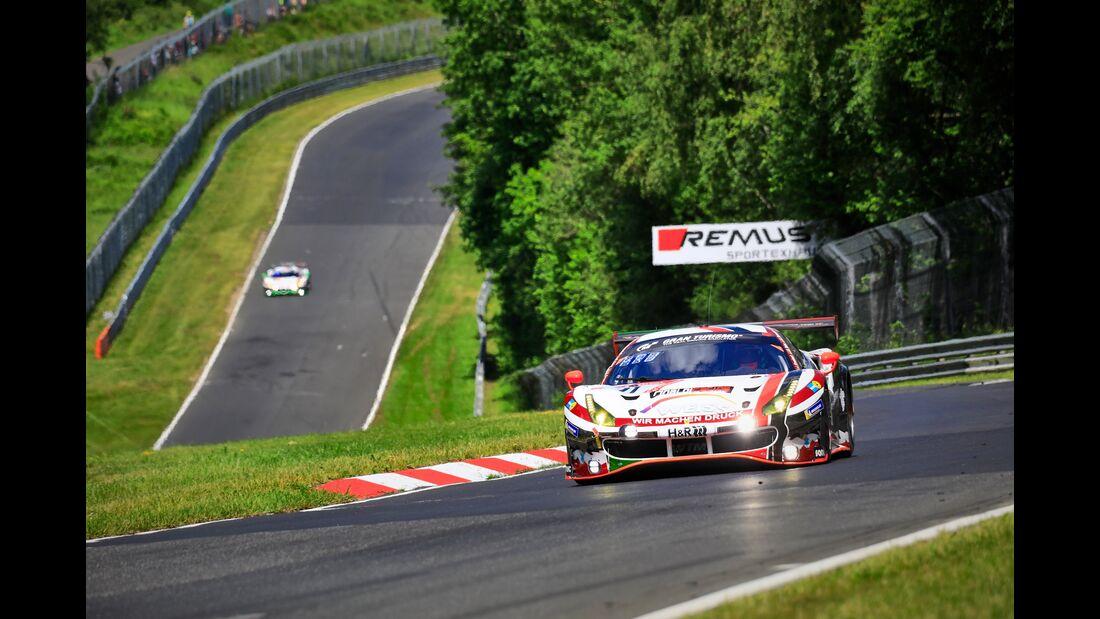 Ferrari 488 GT3 - Startnummer #11 - 24h Rennen Nürburgring - 21. Juni 2019