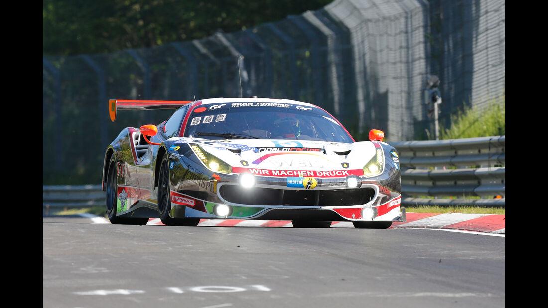 Ferrari 488 GT3 - Startnummer #22 - 2. Qualifying - 24h-Rennen Nürburgring 2017 - Nordschleife