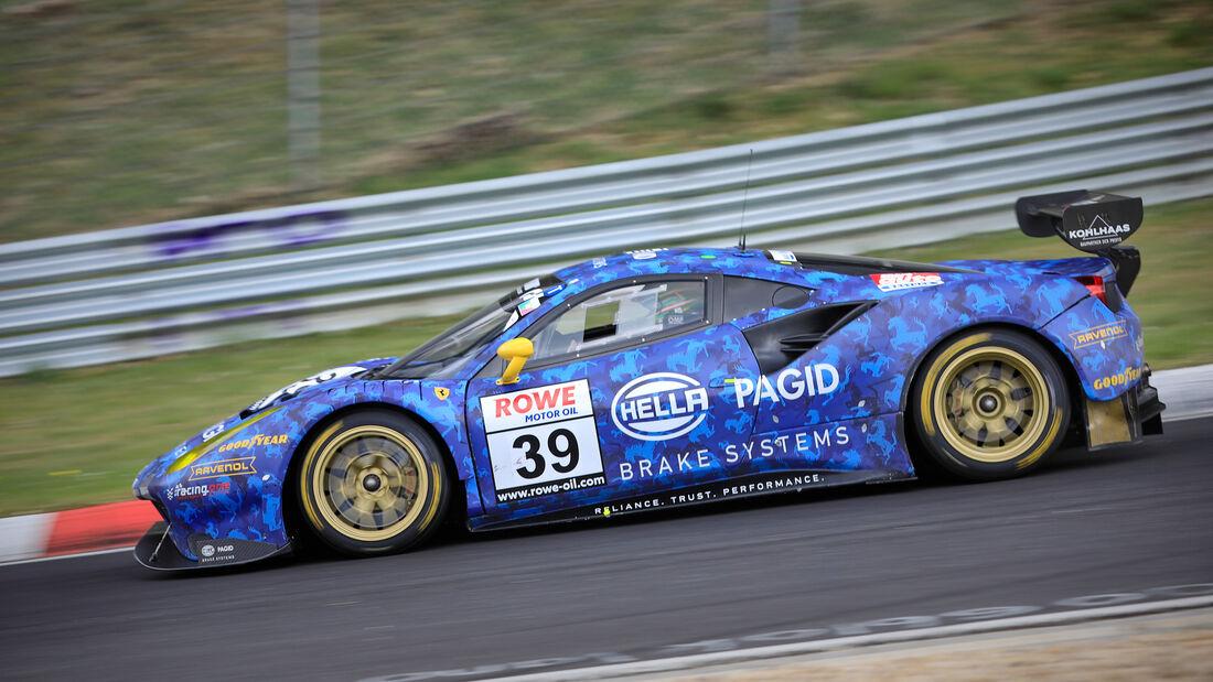 Ferrari 488 GT3 - Startnummer #39 - Hella Pagid - racing one - SP9 Am - NLS 2021 - Langstreckenmeisterschaft - Nürburgring - Nordschleife