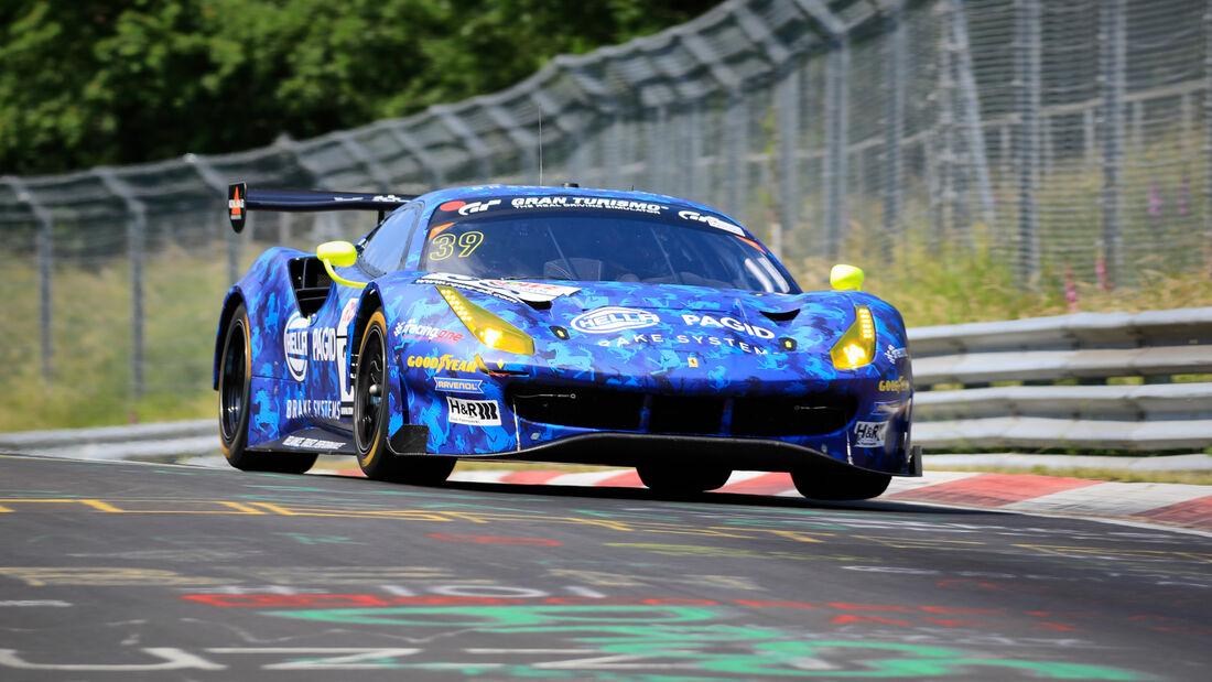 Ferrari 488 GT3 - Startnummer #39 - racing one GmbH - SP9 Am - NLS 2020 - Langstreckenmeisterschaft - Nürburgring - Nordschleife