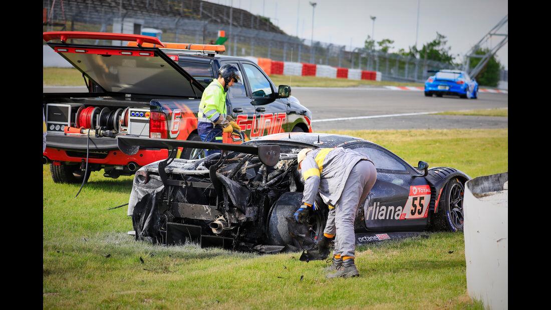 Ferrari 488 GT3 - Startnummer #55 - 24h Rennen Nürburgring - 22. Juni 2019