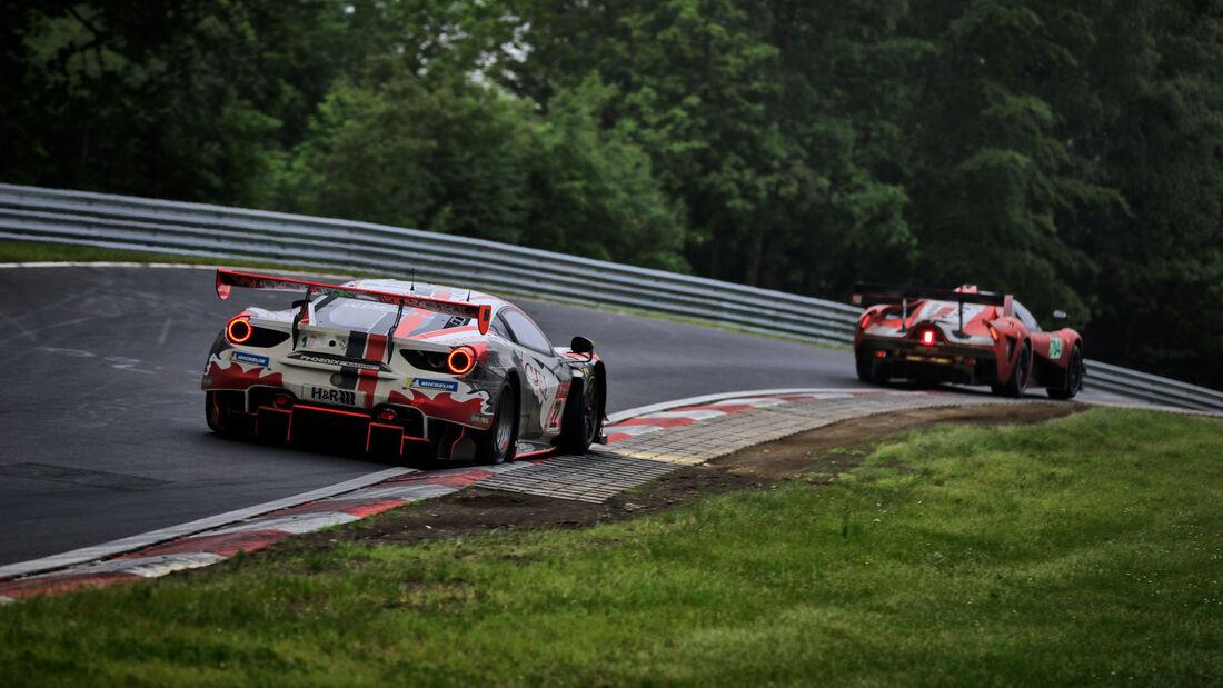 Ferrari 488 GT3 - WTM Powered by Phoenix - Startnummer #22 - 24h-Rennen Nürburgring - Nürburgring-Nordschleife - 5. Juni 2021