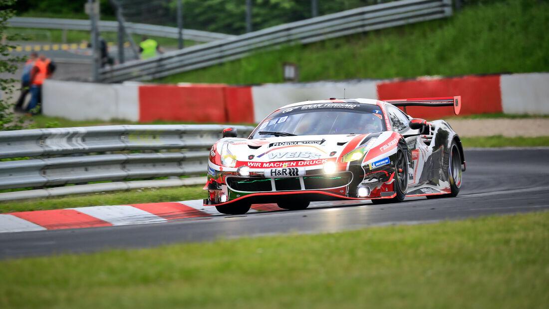 Ferrari 488 GT3 - WTM powered by Phoenix - Startnummer 22 - 24h Rennen Nürburgring - Nürburgring-Nordschleife - 4. Juni 2021