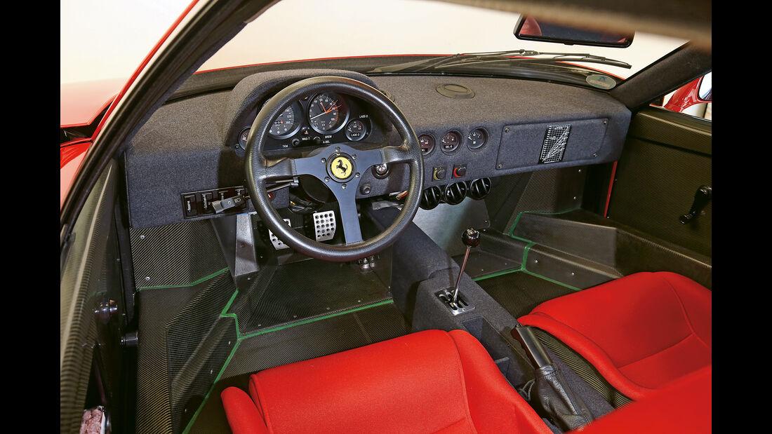 Ferrari 488 GTB, Ferrari F40, Impression, Kleinwalsertal