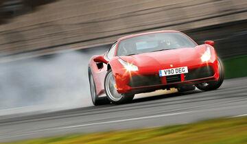Ferrari 488 GTB, Frontansicht, Driften