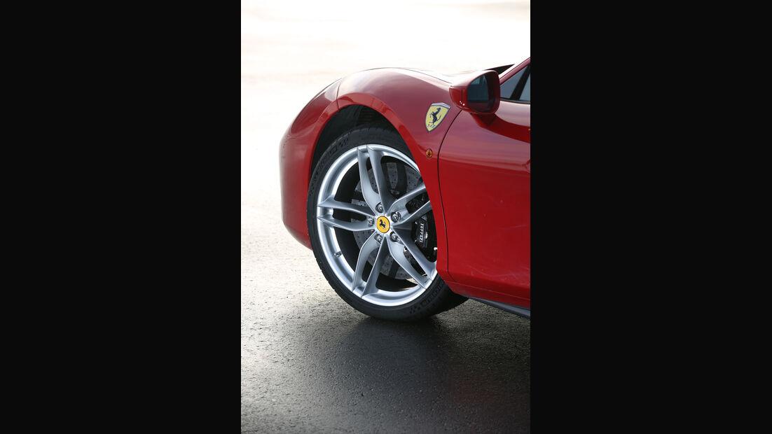 Ferrari 488 GTB, Rad, Felge