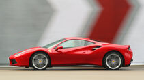 Ferrari 488 GTB, Seitenansicht
