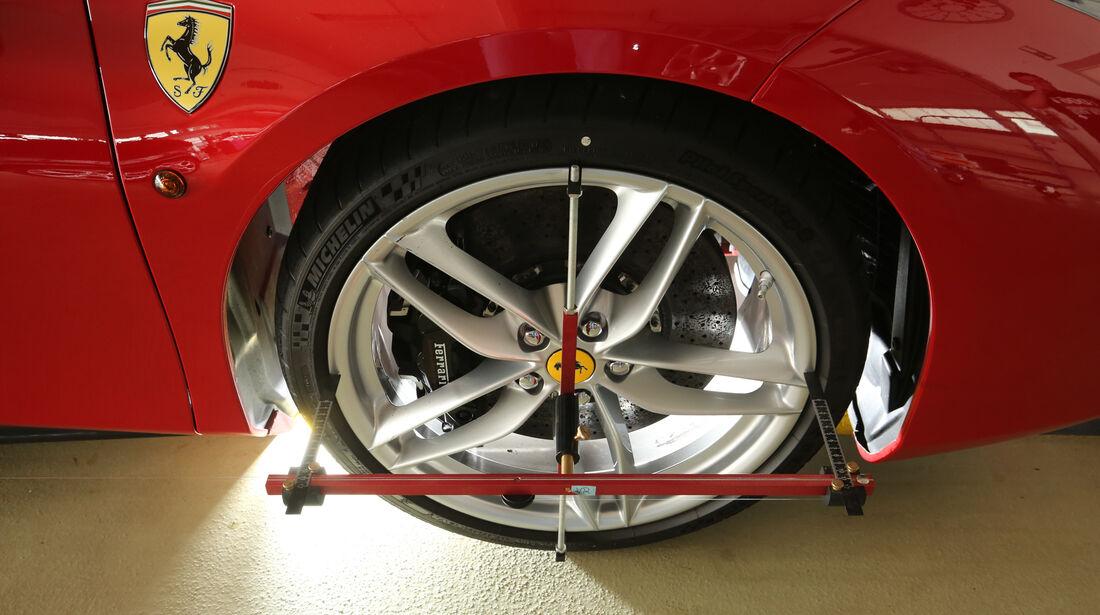 Ferrari 488 GTB, Vermessung, Rad