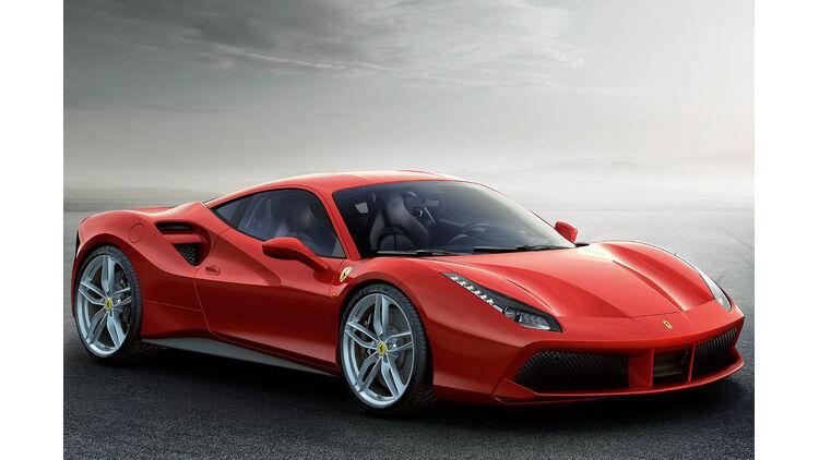 Technikcheck Ferrari 488 Gtb Und 458 Italia V8 Sauger Bekommt Schnappatmung Auto Motor Und Sport