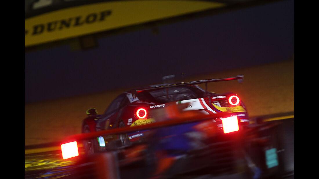 Ferrari 488 GTE - 24h-Rennen Le Mans 2017 - Sonntag - 18.6.2017