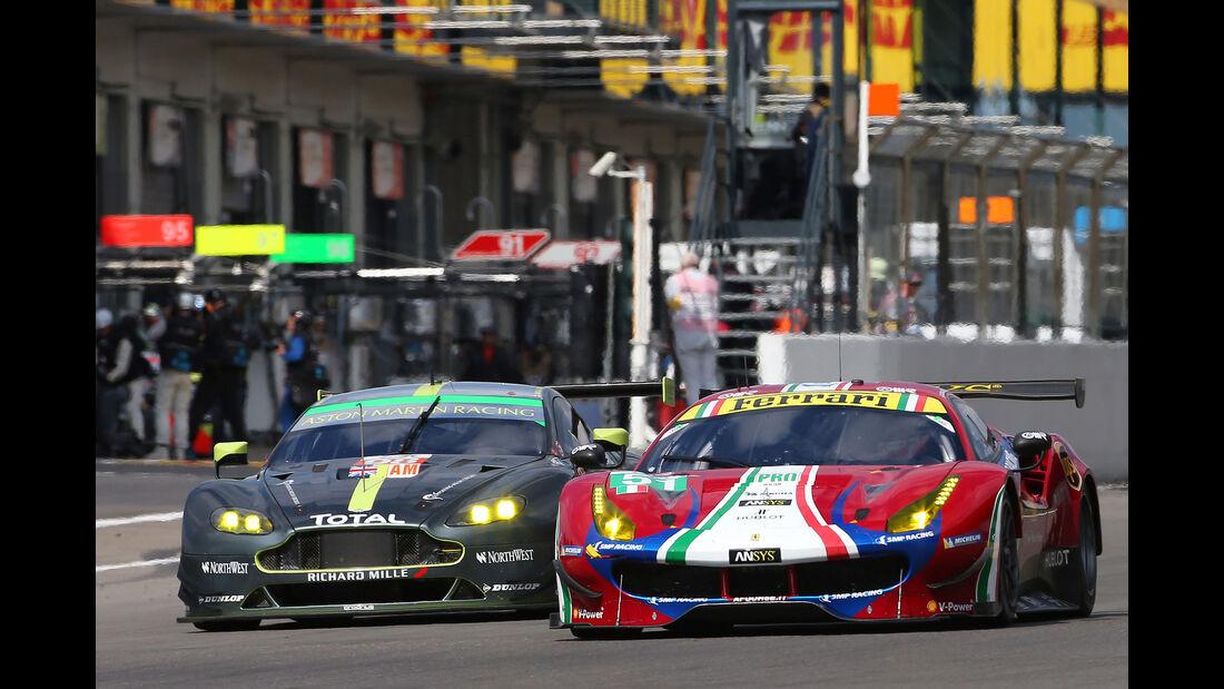 Ferrari 488 GTE - Aston Martin Vantage GTE - LMGTE Pro - GT-Rennsport