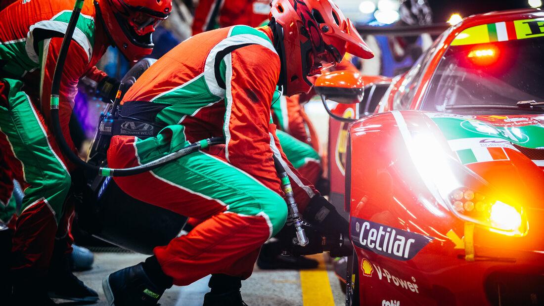 Ferrari 488 GTE Evo - Startnummer #51 - LMGTE Pro - 24h-Rennen Le Mans 2021