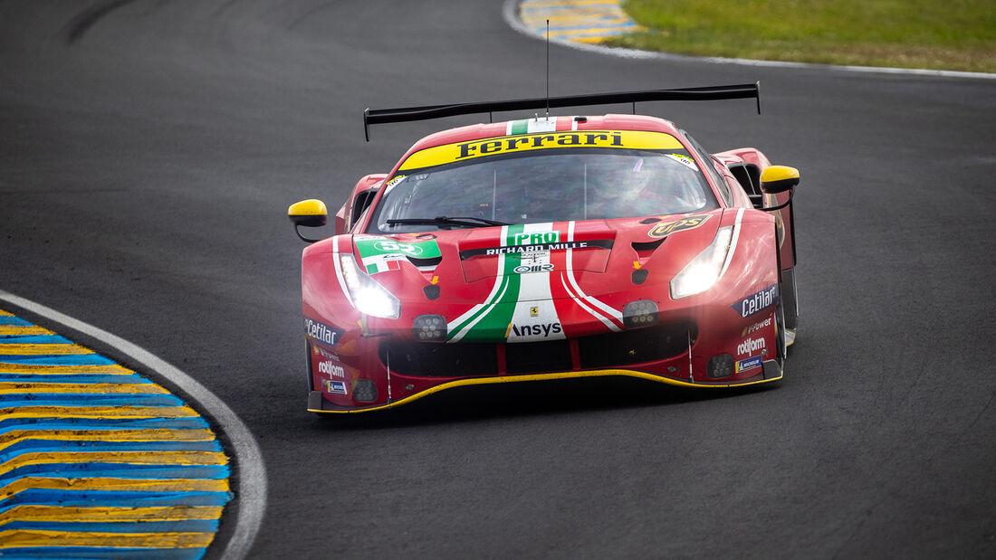 Ferrari 488 GTE Evo - Startnummer #52 - LMGTE Pro - 24h-Rennen Le Mans 2021