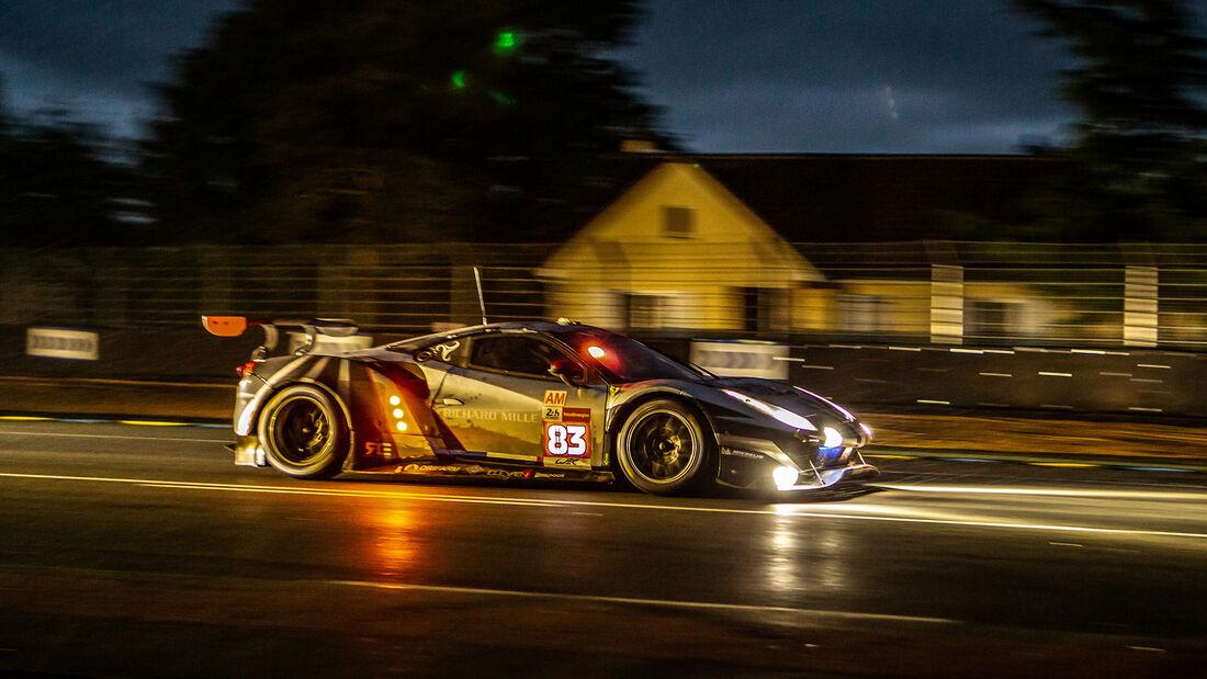 Ferrari 488 GTE Evo - Startnummer #83 - LMGTE Am - 24h-Rennen Le Mans 2021