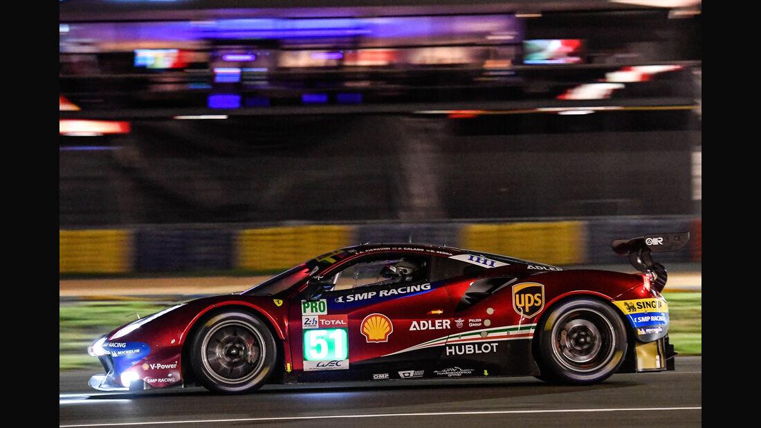Ferrari 488 GTE - Startnummer #51 - 24h-Rennen Le Mans 2018 - Qualifying