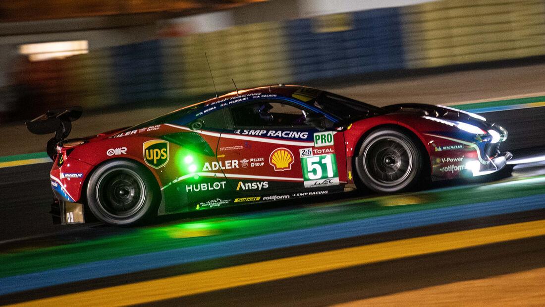 Ferrari 488 GTE - Startnummer #51 - Klasse: GTE Pro - 24h-Rennen - Le Mans 2020