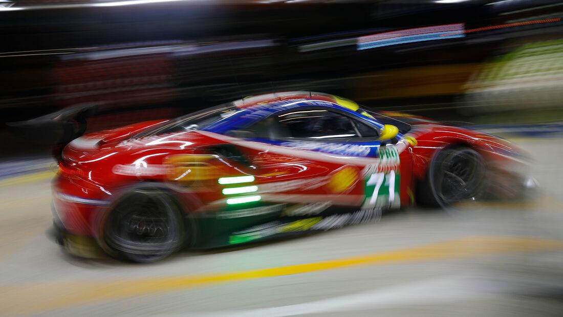Ferrari 488 GTE - Startnummer #71 - Klasse: GTE Pro - 24h-Rennen - Le Mans 2020