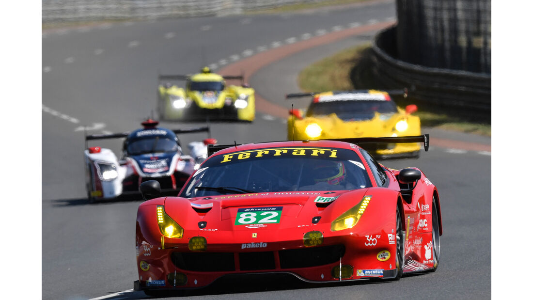 Ferrari 488 GTE - Startnummer #82 - 24h-Rennen Le Mans 2017 - Samstag - 17.6.2017