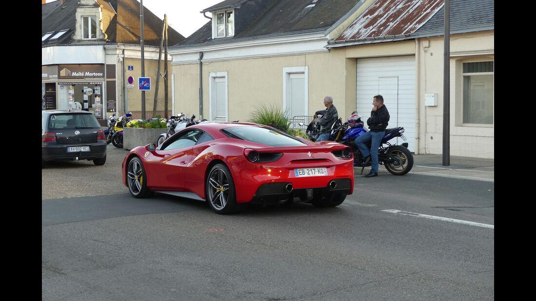 Ferrari 488 GTb - Carspotting - Fan-Autos - 24h-Rennen Le Mans 2017