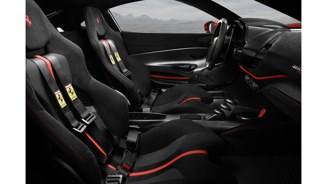 Ferrari 488 Pista (2018) - Supersportwagen - Biturbo-V8