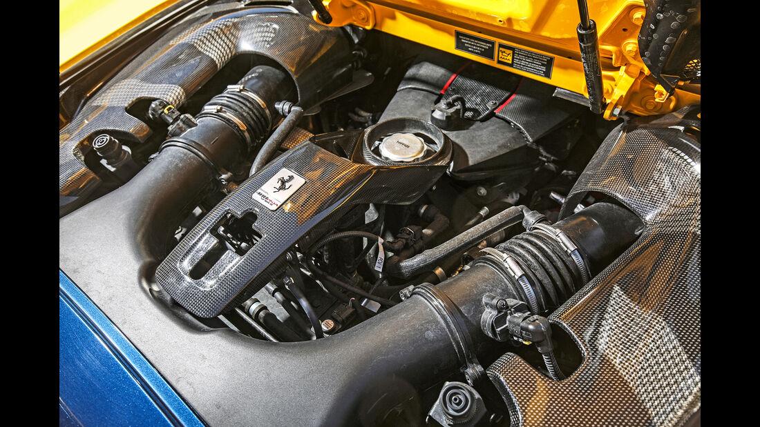 Ferrari 488 Pista Spider, Motor