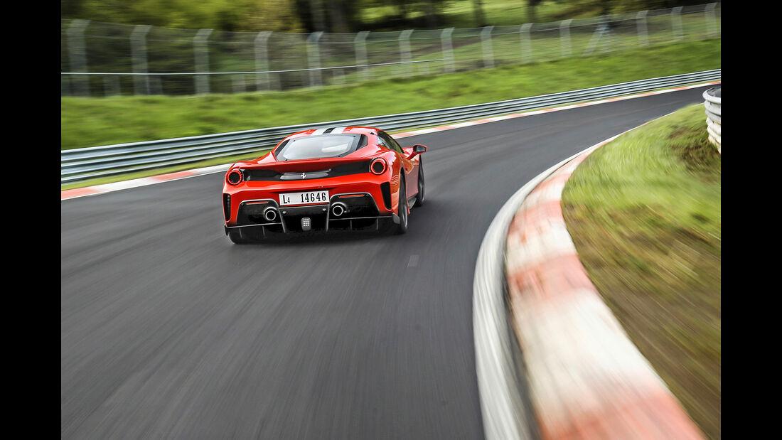 Ferrari 488 Pista - Sportwagen - Nürburgring - Nordschleife - Supertest