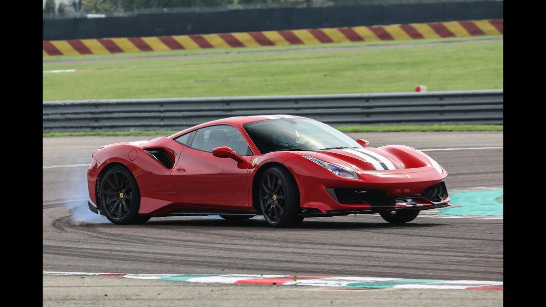 Ferrari 488 Pista - Sportwagen - V8-Biturbo