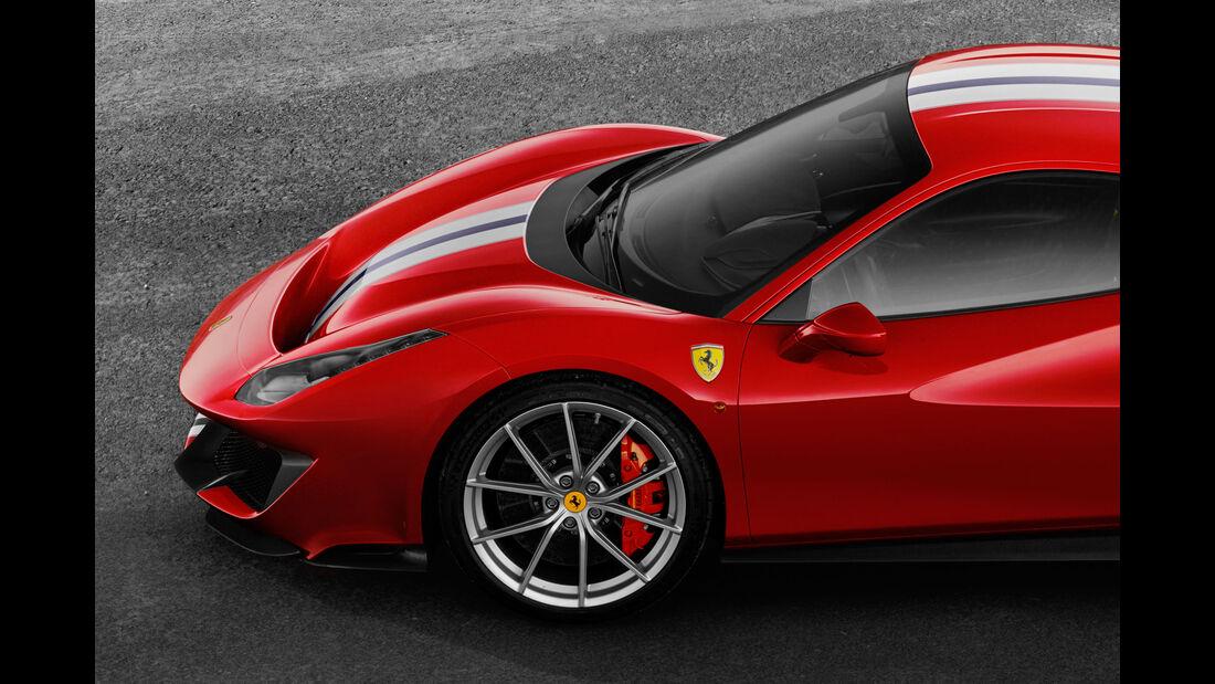 Ferrari 488 Pista - Supersportwagen - Biturbo-V8