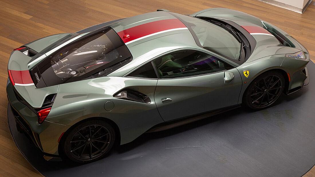 Ferrari 488 Pista Tailor made