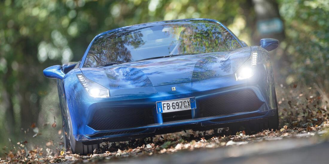 Ferrari 488 Spider, Frontansicht