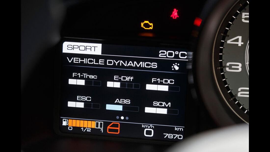 Ferrari 488 Spider, Infotainment