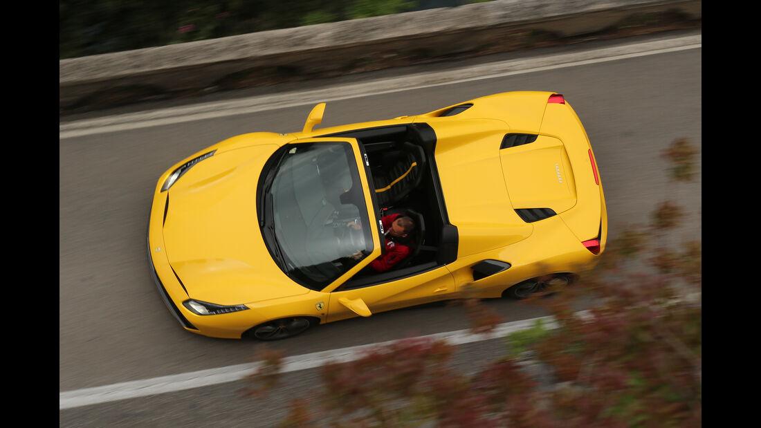 Ferrari 488 Spider, Lamborghini Huracán Spyder, McLaren 675LT Spider