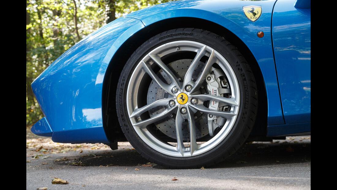 Ferrari 488 Spider, Rad, Felge