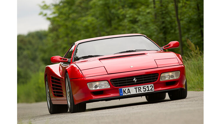 Ferrari 512 Tr In Der Kaufberatung Ausgefülltes Checkheft Ist Pflicht Auto Motor Und Sport