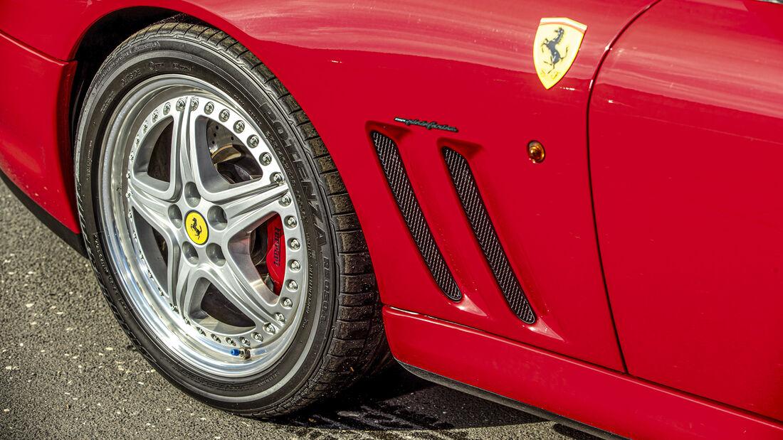 Ferrari 550 Maranello, Exterieur
