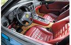 Ferrari 550 Maranello, Fahrersitz