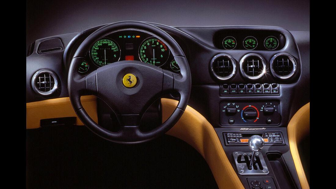 Ferrari 550 Maranello, Frontansicht