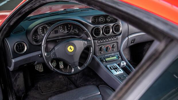 Ferrari 550 Maranello, Interieur